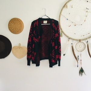 Cotton on open front cardigan